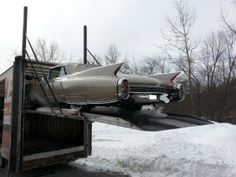 A couple of 1960 Cadillac Eldorados arrive at CPR for restoration - http://www.cprforyourcar.com/1960_cadillac_eldorados_restoration/
