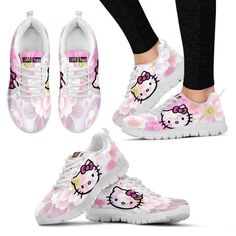 e36f20db05495c Hello Kitty Women s Sneakers and like OMG! get some yourself some pawtastic  adorable cat apparel!