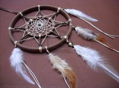 The Sun's Dream Catcher (Hand Made) by TheInnerCat.deviantart.com on @DeviantArt