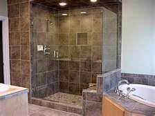 master bath-custom shower