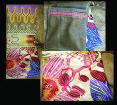 HASbags - Taupe Leather with Missoni fabrics