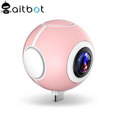 2017 New Patented 4K 360 sport fisheye camera