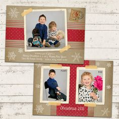 Custom Photo Christmas Card  5x7 printable by ValeriePullam, $18.00