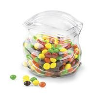 Glass bowl.