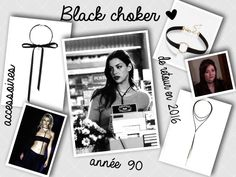 Le choker : l'accessoire trendy à adopter ∆ Chokers, Polaroid Film, In This Moment, Blog, Fashion, Accessories, Moda, Fashion Styles, Blogging