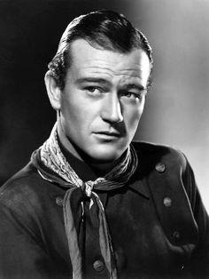 Cowboy John Wayne Actor John Wayne was perhaps best known for his cowboy roles in Hollywood westerns. Golden Age Of Hollywood, Hollywood Stars, Classic Hollywood, Old Hollywood, Hollywood Actor, Young John Wayne, John Wayne Movies, Maureen O'hara, John Ford
