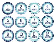 picture about Baby Month Stickers Printable referred to as 24 Easiest Boy or girl Milestone Stickers shots within just 2017 Little one thirty day period