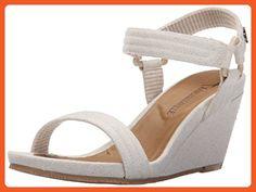 Margaritaville Women's Pompeii Heeled Sandal, Natural, 7 M US - Sandals for women (*Amazon Partner-Link)