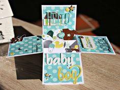 Carte pop-up pour une naissance !