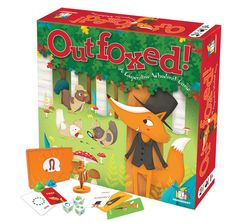 Outfoxed!™ (ages 5+) (2-4 players)