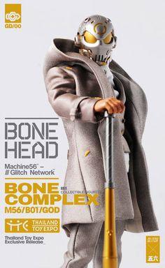 Machine56 × God Complex【Bonehead: Bone Complex】1/6 比例人偶作品 | 玩具人Toy People News