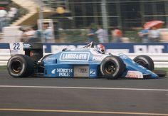 1987 GP Włoch (Monza) Osella FA1G - Alfa Romeo (Franco Forini)