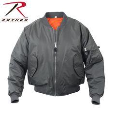 Rothco MA-1 Flight Jacket Gun Metal Grey