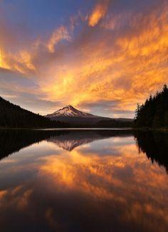 Mount Hood + Trillium Lake • Oregon
