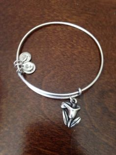 NWOT ALEX & ANI BRACELET Calla Lilly Charm Bangle Wrap Russian Silver SOLD OUT! - http://designerjewelrygalleria.com/alex-ani/nwot-alex-ani-bracelet-calla-lilly-charm-bangle-wrap-russian-silver-sold-out/