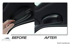 Ceiling Mounted Sunglass Holder for E90/E91 BMW 3 Series Sedan and M3 2006 2012