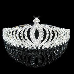 Pageant Crystalized Tiara Crown