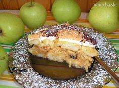 Rožková žemľovka s jablkami (fotorecept) - recept Baked Potato, French Toast, Potatoes, Baking, Breakfast, Ethnic Recipes, Food, Morning Coffee, Potato