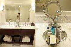ラグジュアリーホテルの洗面所 | HappyTravel&LifewithKids