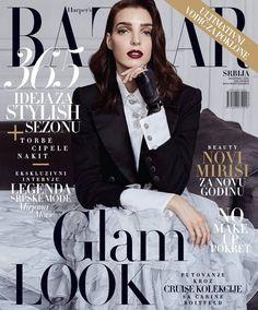 Dajana Antic for Harper's Bazaar Serbia December 2016