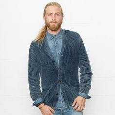 Indigo Rustic Cardigan - Denim & Supply  Sale - RalphLauren.com