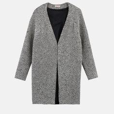 Manteau sans col effet tricot femme 3 Suisses Collection - 3Suisses
