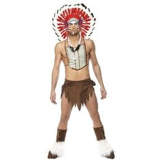 Village people™ Red Indian costume for men by SMIFFYS, http://www.amazon.co.uk/gp/product/B002RC6OOU/ref=cm_sw_r_pi_alp_SdvKrb1N3TVJX