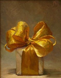 A Touch of Gold by Karen Appleton.  Even if you don't love the subject, you have to admit her way with the light reflecting on the silk ribbon is fantastic!