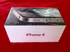 My brand new sealed box iPhone 4 16 GB. Not using it anymore. Sold off.