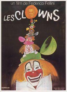 The Clowns, Federico Fellini, 1970