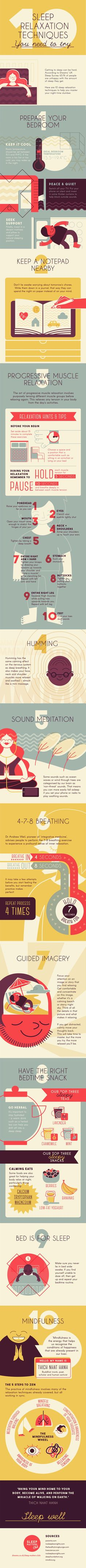 Because 'Just relax!' isn't as helpful as a bunch of actual tips for how to do that. And btw, here are some more infographics that might help you make de-stressing a practice.