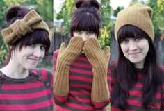 Oh You Crafty Gal: Upscale Old Sweaters to Socks, Legwarmers, Arm Warmers, Skirts, Hats, Gloves, and Ear Warmers