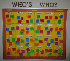 On the first day, pass out the Post-Its and ask students to post their answers to fun getting-to-know you questions!