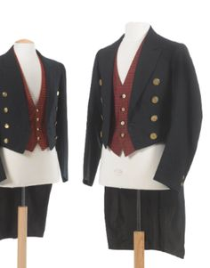 Assorted staff uniforms (because I am currently watching Downton Abbey and I want some!) (Servants OR uniforms, either will do.)