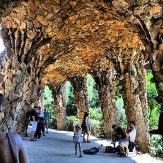 Park Guell by Paula Bryce #barcelona