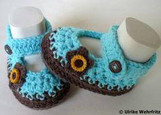 Babyschuhe KC 23 von stricklienes lädchen auf DaWanda.com
