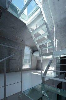Crisp. White. Stairs.