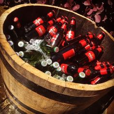 Why not use half a barrel to keep drinks cool? Prices Exclusive of VAT.