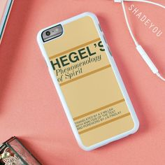 Now on sale! Hegel's Phenomeno... buy it here on http://www.shadeyou.com/products/hegels-phenomenology-of-spirit-iphone-7-case-iphone-6-6s-plus-iphone-5-5s-se-google-pixel-xl-pro-htc-m10-samsung-galaxy-s8-s7-s6-edge-cases?utm_campaign=social_autopilot&utm_source=pin&utm_medium=pin #phonecases #iphonecase #iphonecases