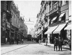 Rua 15 de Novembro, São Paulo - SP. (1920) Coleção Folha São Paulo Antiga