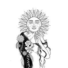 18 best Ideas for lighting design sketch artworks Dope Tattoos, Body Art Tattoos, Small Tattoos, Sleeve Tattoos, Art Drawings Sketches, Tattoo Drawings, Natur Tattoos, Mother Nature Tattoos, Piercing Tattoo
