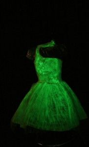 Glow in the Dark Gown!