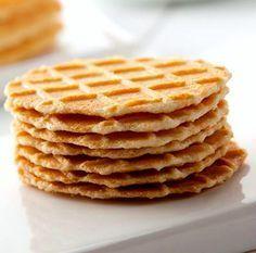 Galletas belgas o Waffle campinoises son un tipo de dulce tradicional en Bélgica. Son parecidas a los gofres pero más delgadas y crujientes
