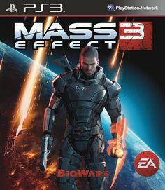 mass effect 3 box art ps3 - Google Search