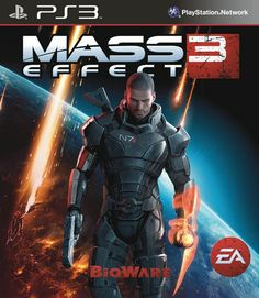 mass effect 3 box art ps3 - Google Search