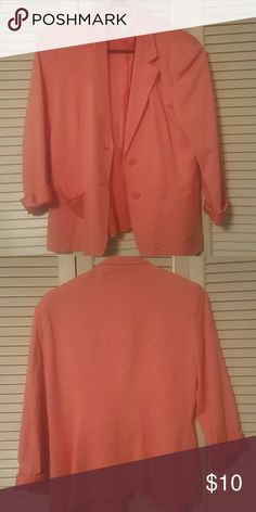 Ladies Sz 10 Nice Pink Lined Skirt By Sag Harbor For Work Women's Clothing Business And Dress The Latest Fashion