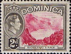 Dominica 1938 King George VI SG 102 Fine Mint Scott 100 Other Dominican Stamps HERE