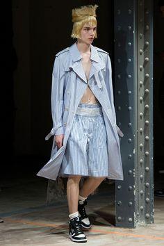 Comme des Garçons Homme Plus showed its Spring/Summer 2017 collection during Paris Fashion Week.