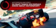 10 crazy facts featuring some of the greatest moments, drivers, teams and cars in motorsport! Weird Facts, Crazy Facts, Trivia, Thinking Of You, Monster Trucks, Auction, Crazy Things, Thoughts, Search