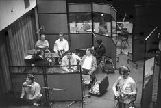 """""""Martha My Dear October 1968 The Beatles (George & Paul), with session musicians, at Trident Studios in London recording Paul McCartney's song, Martha My Dear, for the White Album. McCartney was the writer and only actual Beatle. Beatles Bible, Die Beatles, Linda Mccartney, John Lennon, Martha My Dear, Linda Eastman, The White Album, Recording Studio Design, Sgt Pepper"""